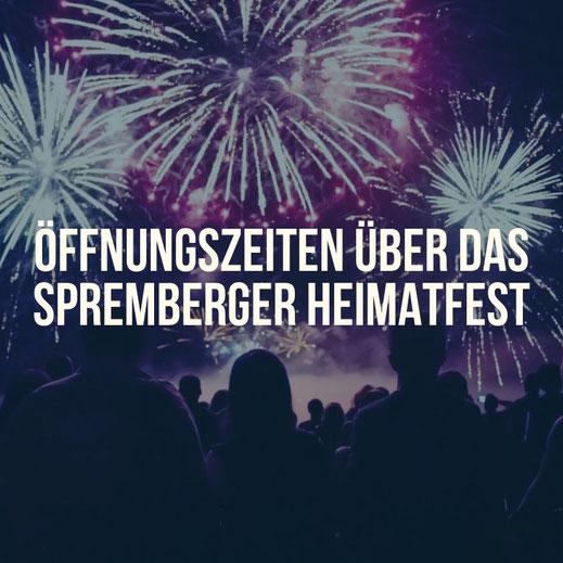 Öffnungszeiten zum Spremberger Heimatfest