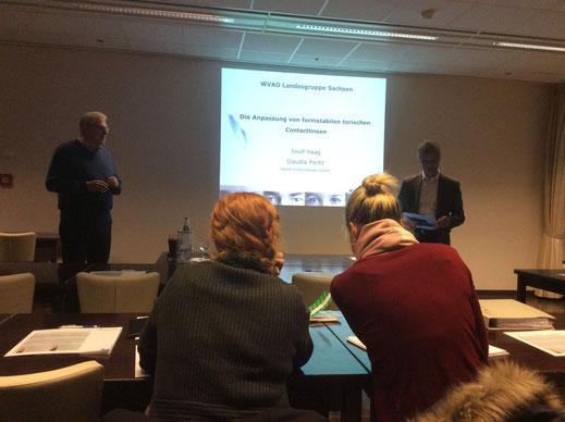 Weiterbildung für Kontaktlinsenspezialisten, Augenoptiker und Optometristen in Dresden