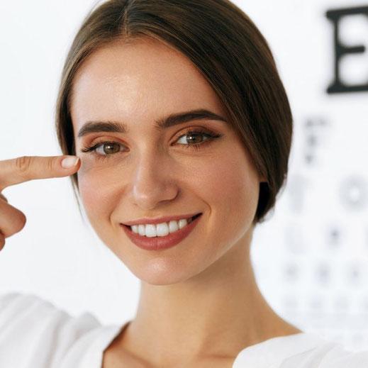 Versorgungsempfehlung auf Basis der optometrischen Augenuntersuchung