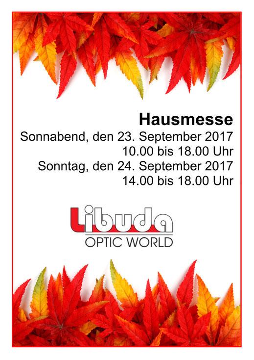 Brillen-Hausmesse zum Spremberger Töpfermarkt am 23. und 24. September 2017