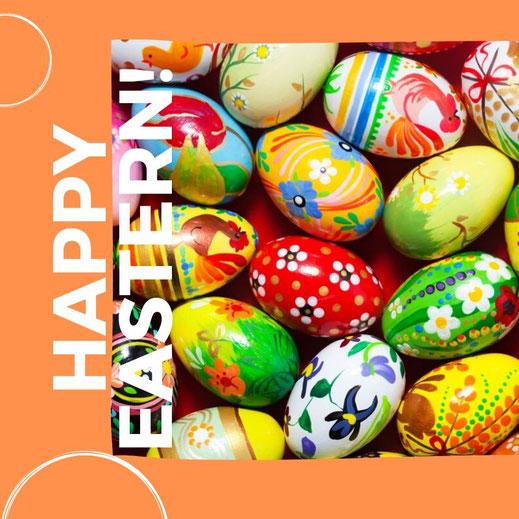 Wir wünsche Ihnen frohe Ostern!