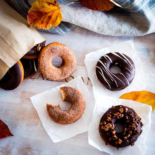 Rezept für klassische amerikanische Hefe-Donuts