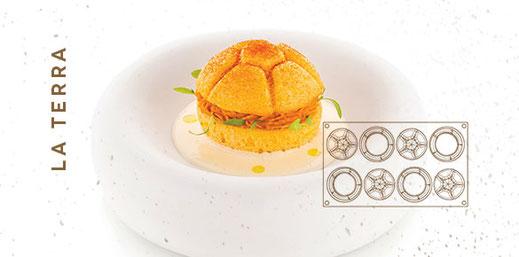 moules en silicone, Silikomart, moule Silikomart, Gastronomie, pâtisserie, cuissine