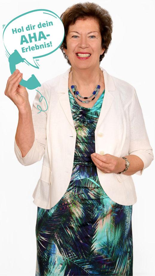 Kostenloses Erstgespräch mit Christa Saitz, Hol dir das AHA-Erlebnis