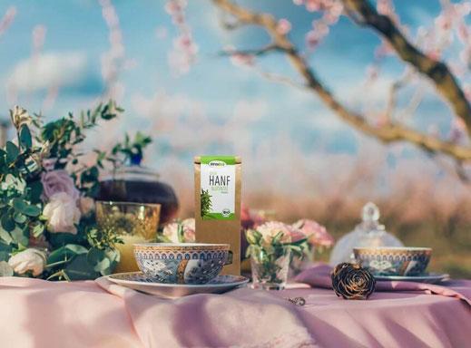Hanfblüten-Tee kaufen und selbst bestimmen, wie er wirken soll