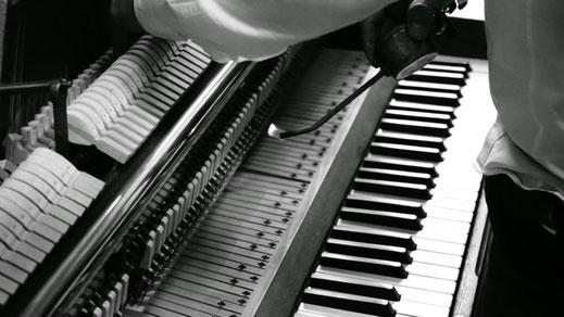 Marten Overath steht mit seinem Team für qualitative und professionelle Restauration von Klavieren und Flügeln.