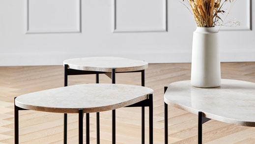 Als Schreinerin und Innenarchitektin entwirft Agnes Morguet Leuchten und Möbel, von. Tischen, über Sidebaords bis zum Sofa.