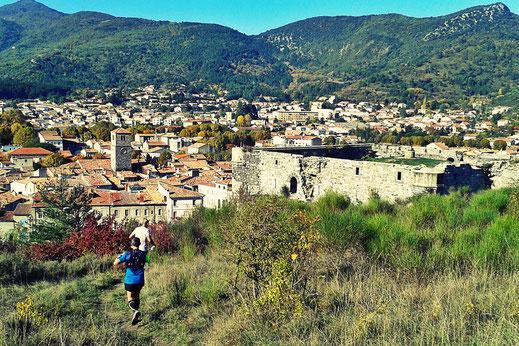 Trail Quillan - Château et Ville de Quillan