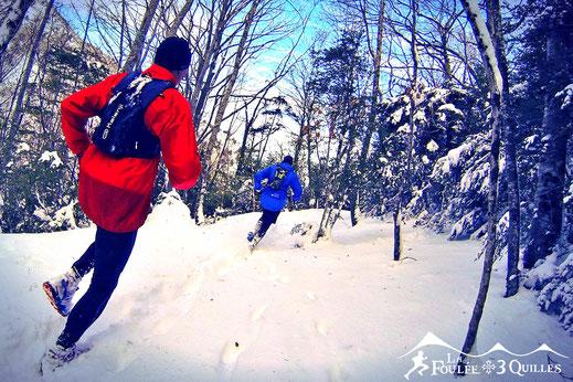 Snow trail - Camurac