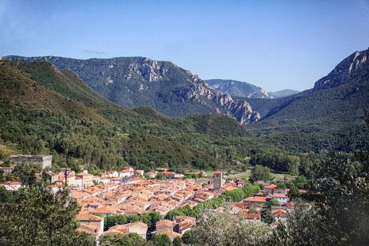 Sentier des Oliviers - Capio - Col du Portel - Quillan