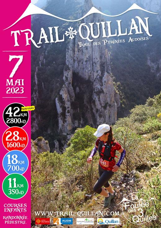 Affiche Trail Quillan 2019
