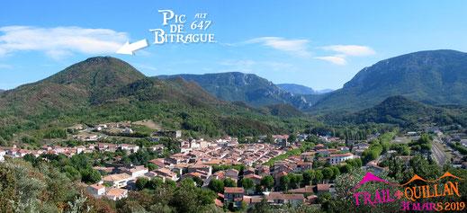 Quillan - Les 3 Quilles - Pic de Bitrague