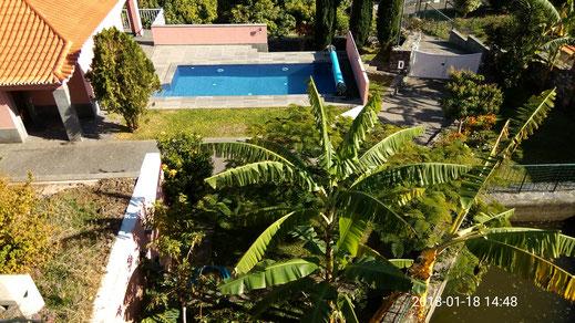 maison avec piscine en location de vacances à Madeire, la casadamanga