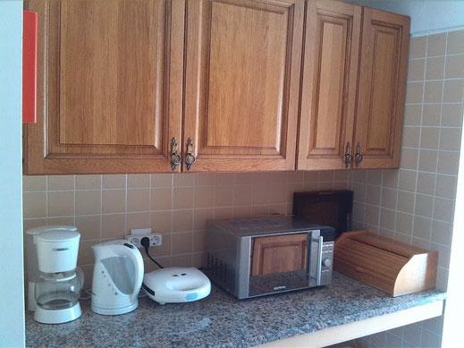 cuisine de la maison de Porto Santo en location de vacances