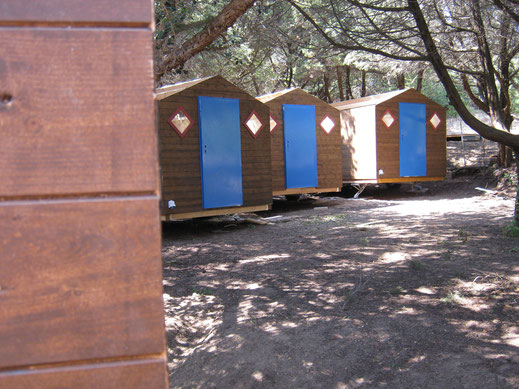 Mobile Camping Bungalows von Holzhaus Roew