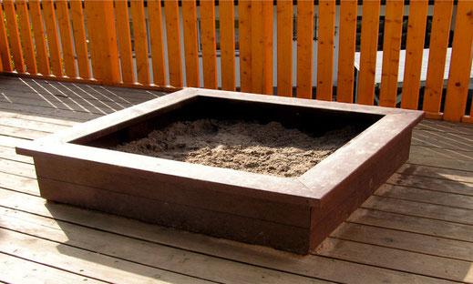 Sandkasten Gobi aus Recycling Kunststoff