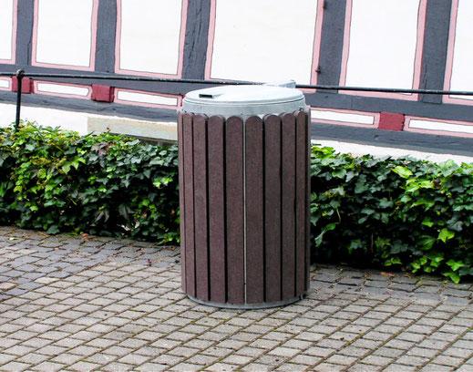 Abfallbehälter Stora aus Recycling Kunststoff