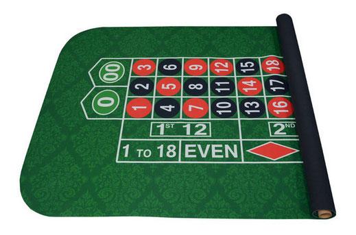 Roulette Tisch Auflage mieten