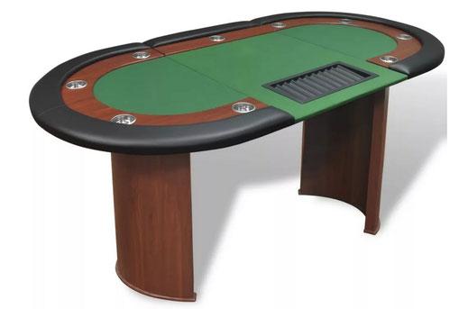 Poker Tisch mieten Classic Set - roulettetisch.ch