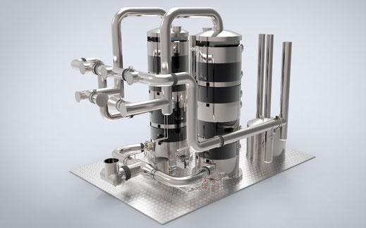 Infografía 3D ingeniería industrial