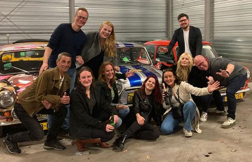 De kasteleins van café De Gezelligheid aan het Gasthuisplein in Zwolle
