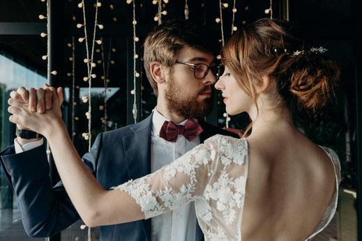 Tenues de mariage bohème chic par dress me up nantes