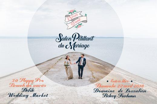 Les Noces D'Avril, Salon Pétillant du Mariage le 22 Avril 2018