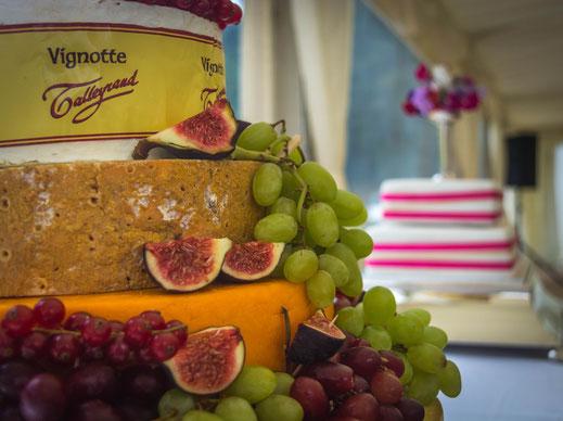 Pièce montée aux fromages - Crédit Photo