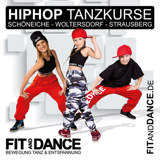 Strausberg Schöneiche Woltersdorf Berlin FitandDance by Lara Höll HipHop Teens Kids Dance Streetdance Kindertanz