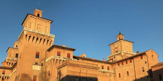 Chateau  des Este , visite guidée de Ferrara