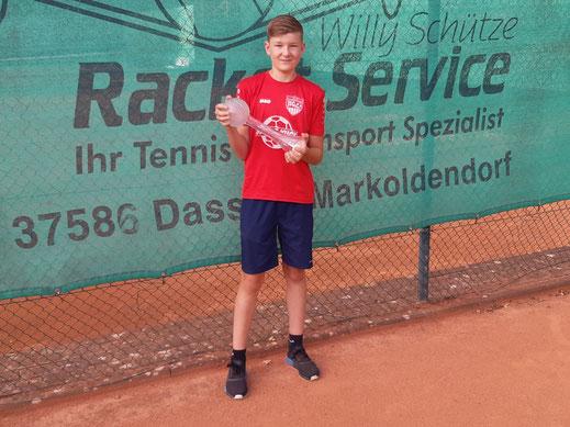 Pokalsieger Niklas Ahlswede
