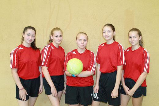 von links: Inesse Denise, Anne Geide, Kim Barschkies, Katharina Keist und Veronika Naumann