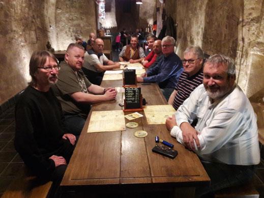 Freitag im Restaurant der Brauerei