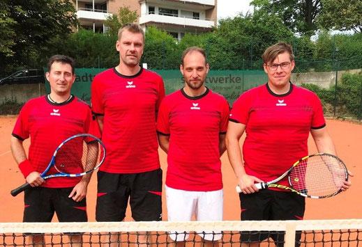 von links nach rechts: Mf. Florian Schaper, Björn Becker, Matthias Müller und Jan Sprink.
