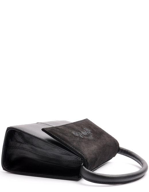 Henkeltasche Trachtentasche schwarz aus Leder versankdostenfrei kaufen. OWA Tracht Manufaktur