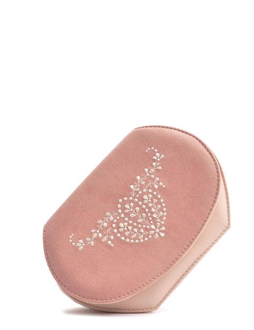 Wiesntasche Trachtentasche ANNA rose  mit Stickerei OSTWALD Traditional Craft