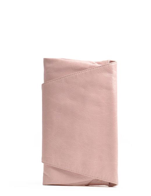 OWA Tracht Clutch Leder rosè Dirndltasche Trachtentasche