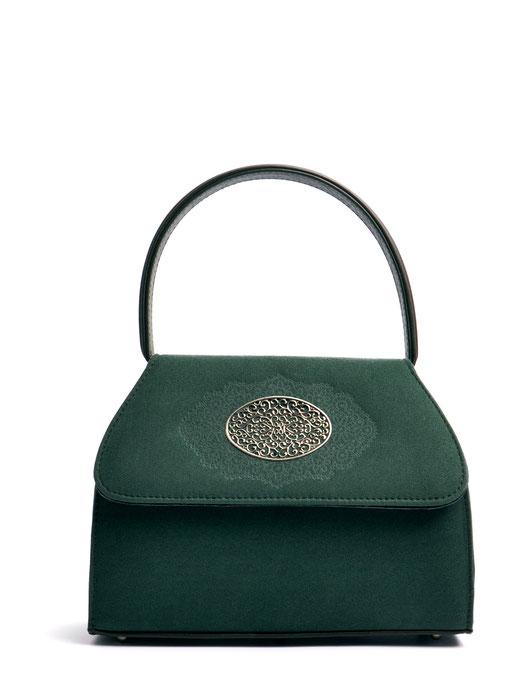 Dirndltäschchen grün Leder Trachtentasche kostenfrei bestellen
