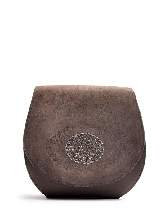 OWA Tracht Dirndltasche  Leder grau Online-Shop