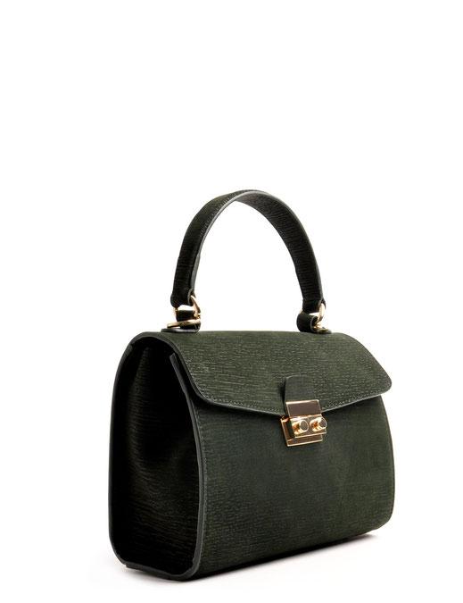 Online-Shop  Shopping  OWA Tracht  exklusive  Dirndltasche  CLOE versandkostenfrei kaufen. Farbe grün. mit goldenem Schloss