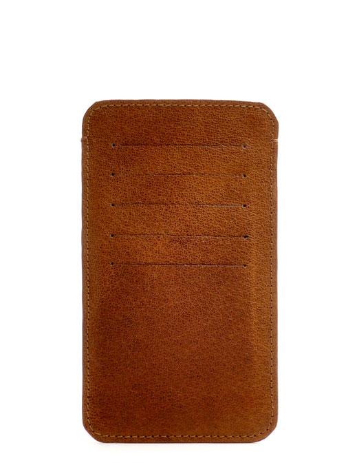 Handy-Etui Smartphone-Etui Herren Leder braun