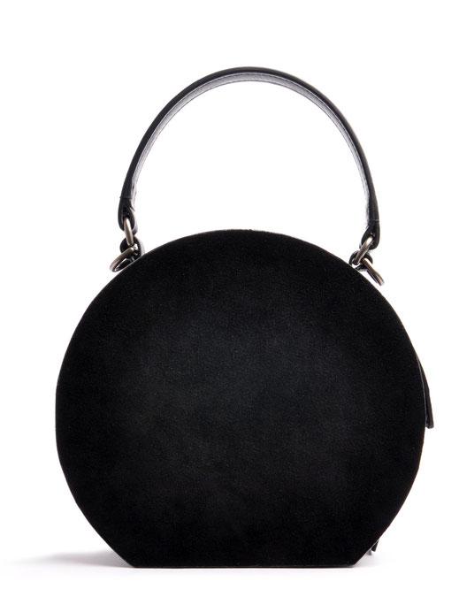 Ledertasche Greta Vintagestil Leder schwarz OSTWALD Traditional Craft