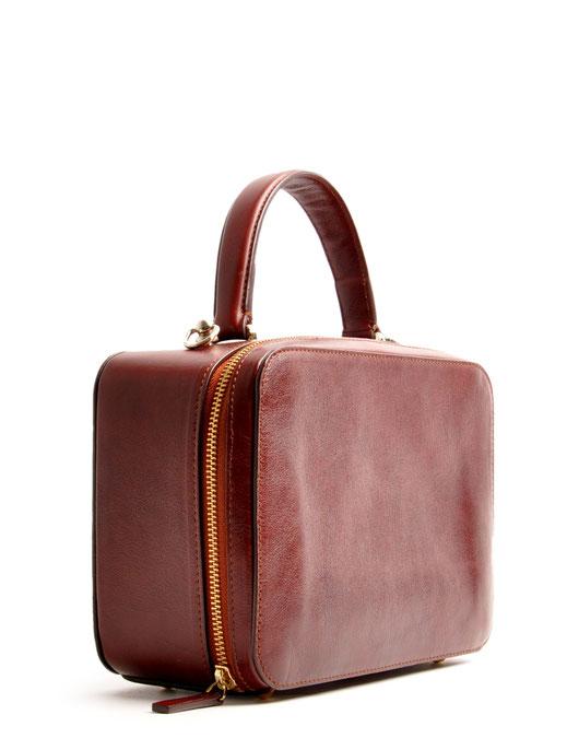 Tasche Vintage-Look Ledertasche Dirndltasche Trachtentasche versandkostenfrei kaufen. Farbe braun OWA TRACHT