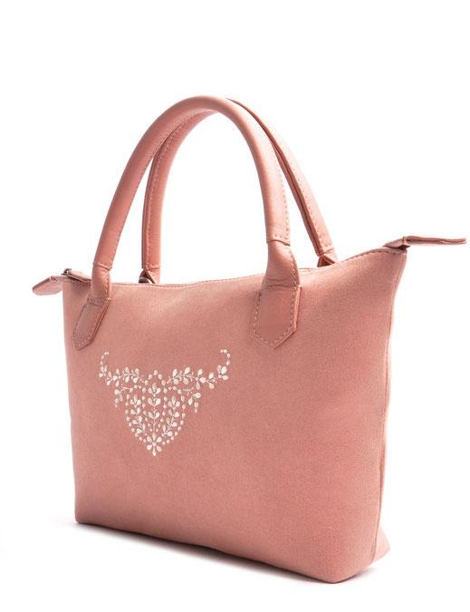 Trachtentasche INÈS rose OSTWALD Traditional Craft