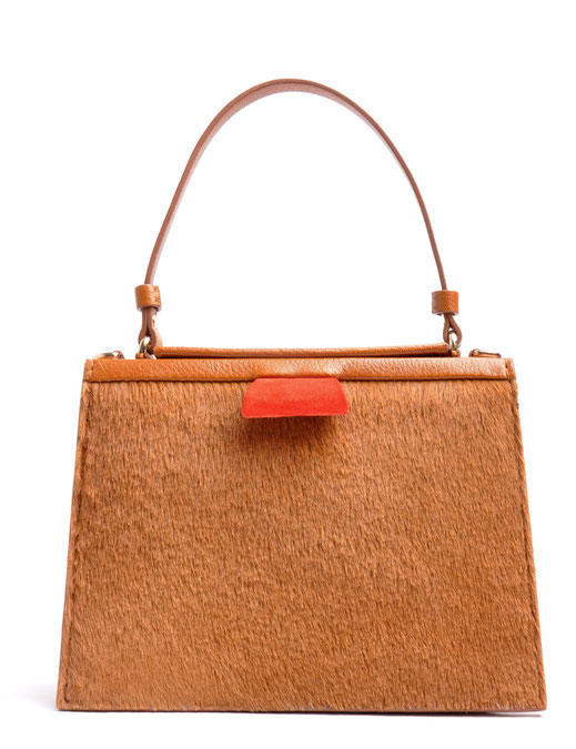 OSTWALD Fines Couture Bag Cognac handcrafted