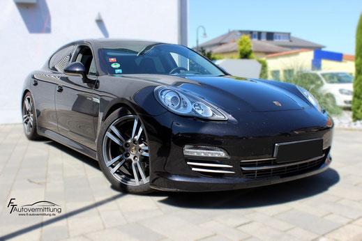 Galerie Porsche Panamera Diesel Platinum Edition