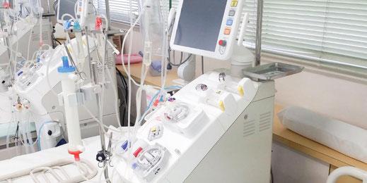 最新の透析機器で多様化する透析療法に対応