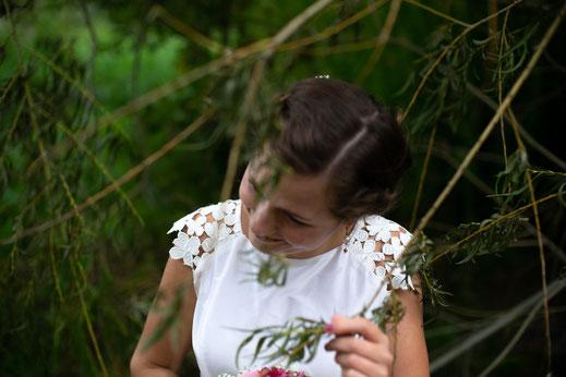 Wunderschönes Boho-Hochzeitskleid