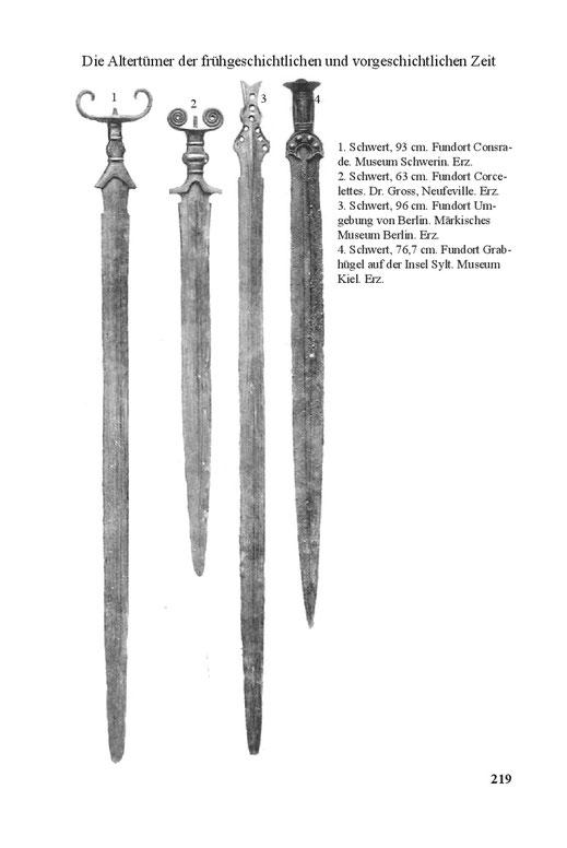 Keltische Schwerter La Téne und Hallstatt