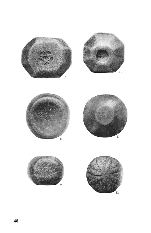 diverse european sword pommels early middles ages